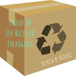 💚♻️ Proud to Use Recycled Packaging ♻️💚